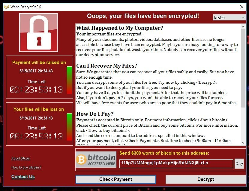 Wannacry Decryptor