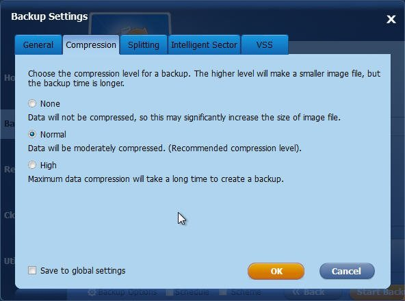 Backup Compression