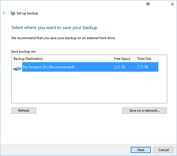 Two Simple Ways to Backup Lenovo Laptop in Windows 10