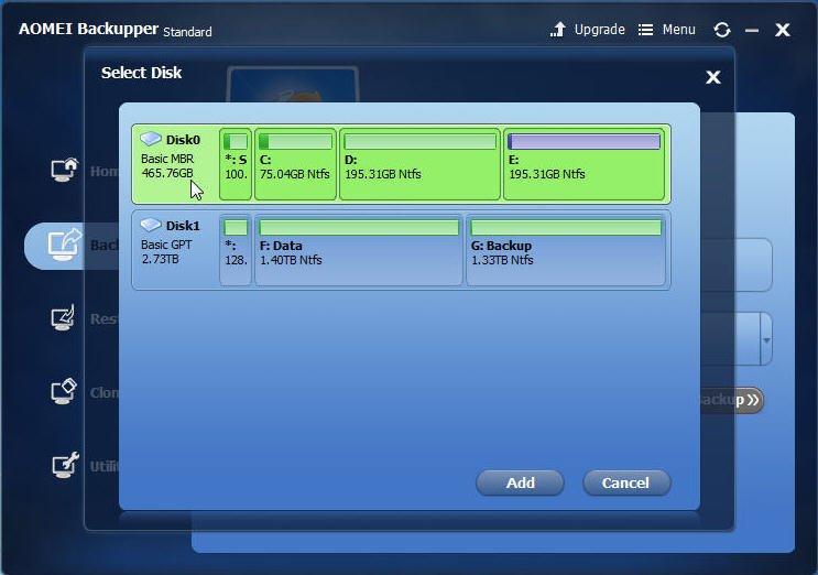 Backup SSD