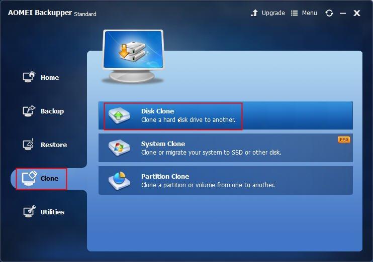 Best Free Desktop Cloning Software – AOMEI Backupper Download