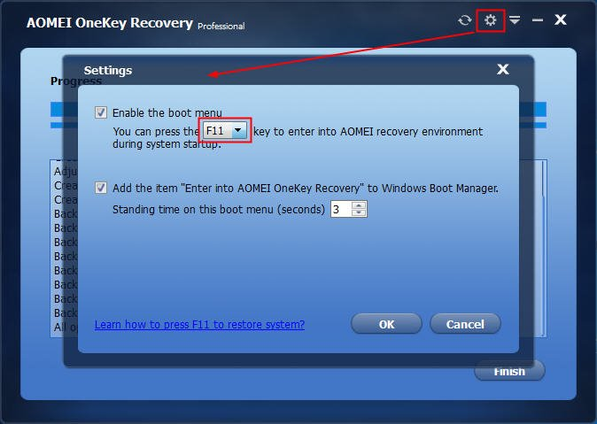 Fixed: F11 System Recovery Not Working in Windows 7/8/10