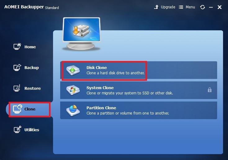 Disk Clone