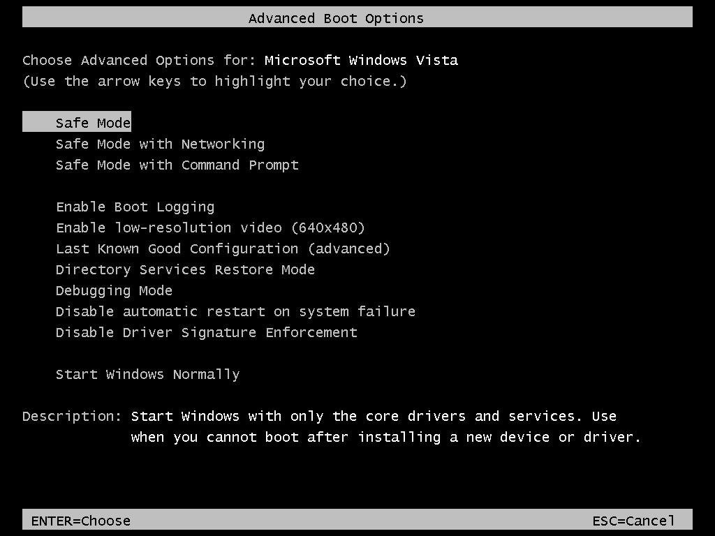 Safe Mode Command Prompt