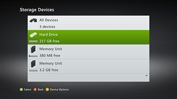 Not Enough Space Xbox 360 How To Check Space And Free More