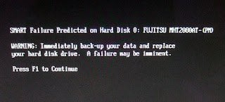 SMART Failure Predicted on Hard Disk 0