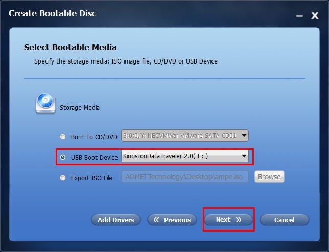 USB Boot Device