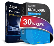 AOMEI Backupper Professional&AOMEI Partition Assistant Professional