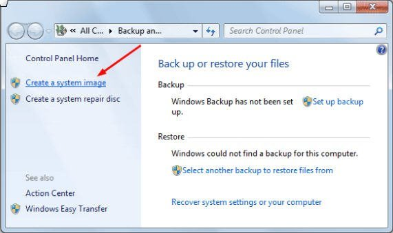 create windows 7 restore usb