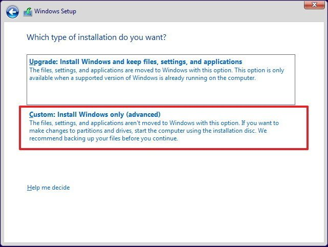 How to fresh install windows 10 without losing data