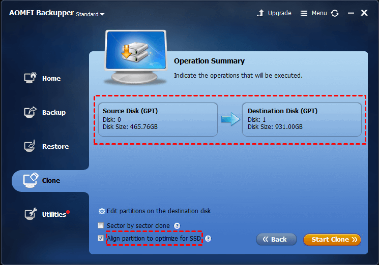 Optimize for SSD