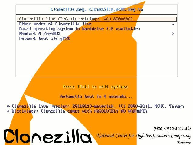 How to Use Clonezilla in Windows 7 for System Cloning?
