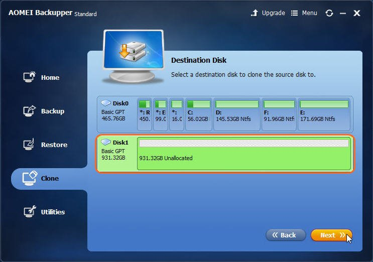 how to take backup of laptop hard disk
