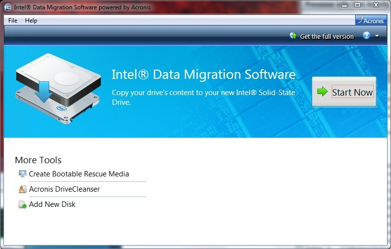 Fixed: Intel Data Migration Software Not Working Problem