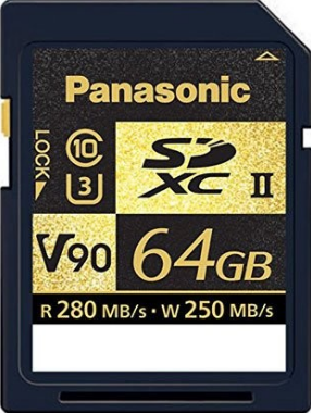 Panasonic 64GB SD Card