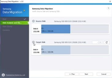 Samsung Data Migration