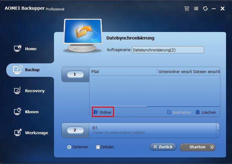 Google Drive Desktop Ordner