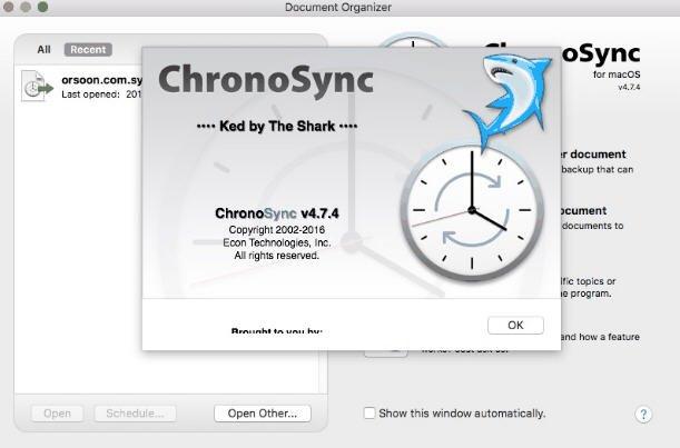 ChronoSync v4.7