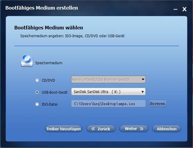 USB-Boot-Gerät