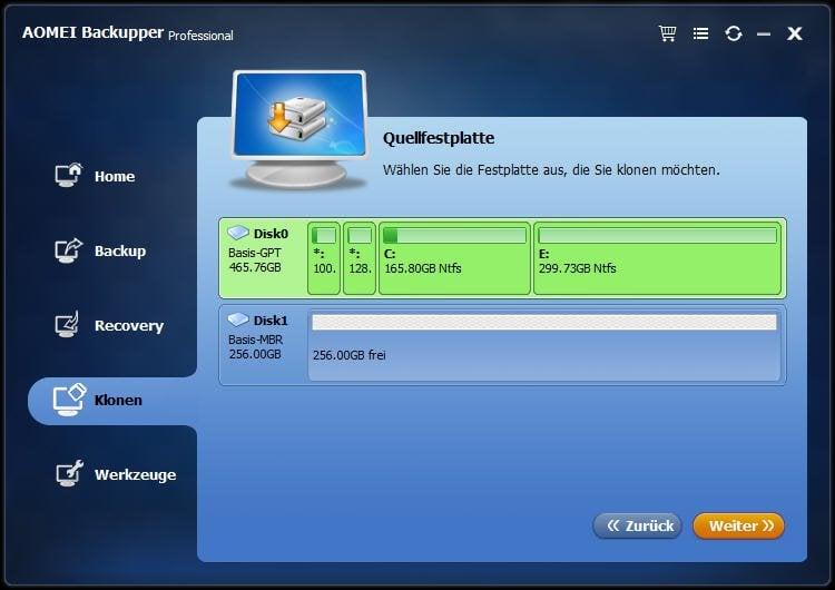 GPT Festplatte
