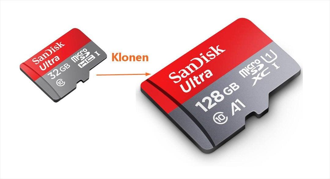 sd karte auf größere kopieren SD Karte klonen: SD Karte auf größere mit Freeware aktualisieren
