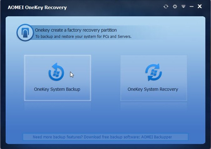 OneKey Recovery