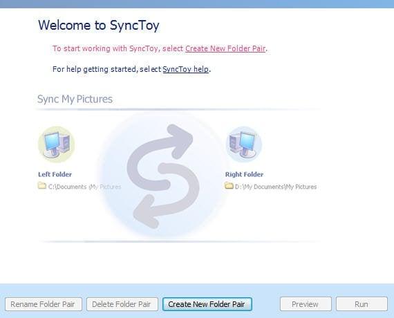 Create New Folder Pair