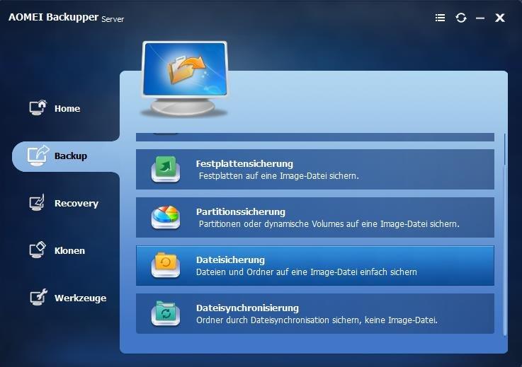 File Backup Windows 10