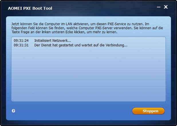 PXE Boot Tool