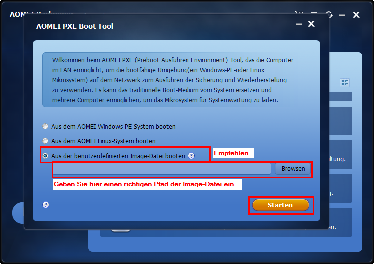 mit pxe boot tool aomei f 252 hrt pxe boot windows 7