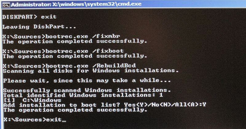 Windows Server reparieren