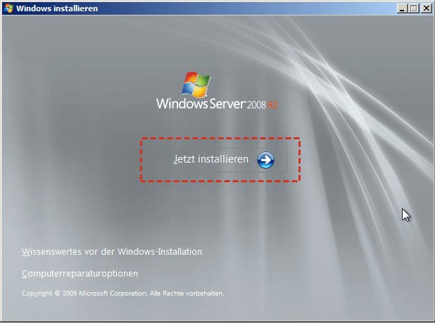 Windows installieren