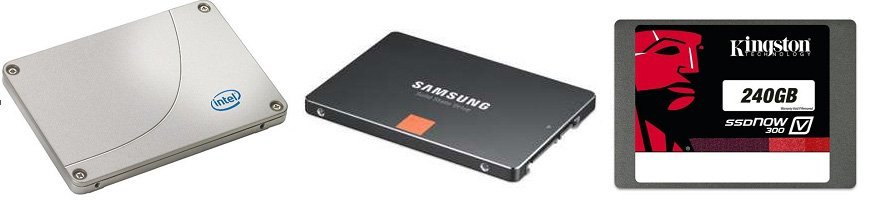 SSD Intel Samsung Kingston