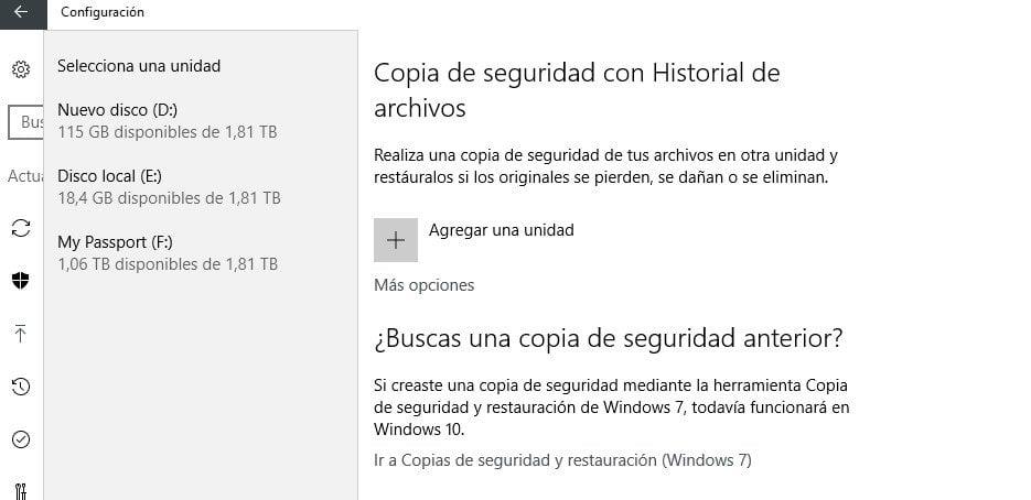 historial archivo windows 10