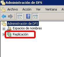 Administración de DFS