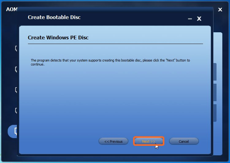 windows 7 pe builder usb