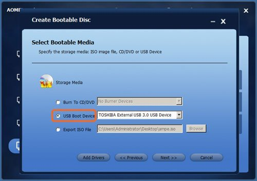 Create Bootable USB Drive