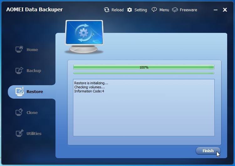 AOMEI Backupper Professional 3.2 – licenta GRATUITA