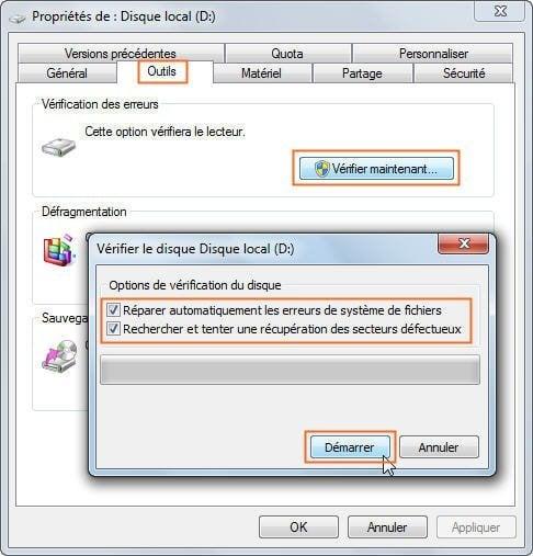 R solu une erreur smart est survenue sur le disque dur 0 - Reparer table de partition disque dur ...