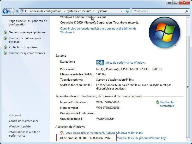 Si votre ordinateur est pré-installé avec Windows 10 8 7, il s agit  généralement d une clé OEM. Si vous avez acheté votre licence auprès de  Microsoft, ... fa105a130b06