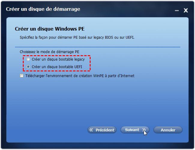 Create UEFI Bootable Media