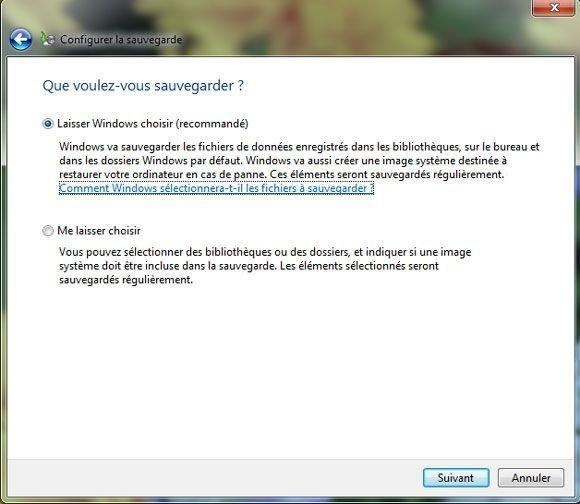 Windows 7 Backup