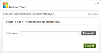 Selectionner ISO