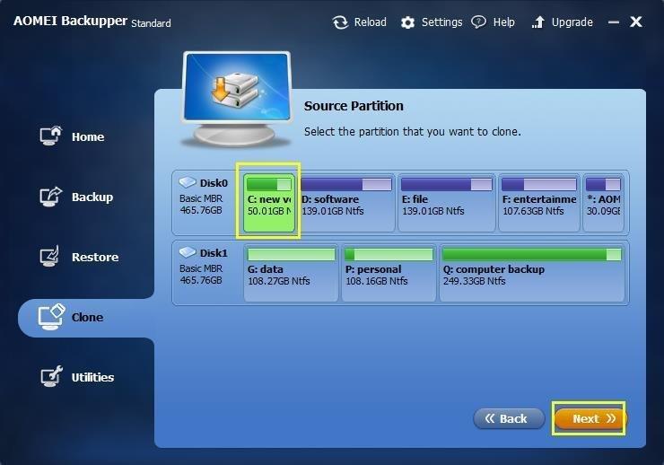 Select-Partition
