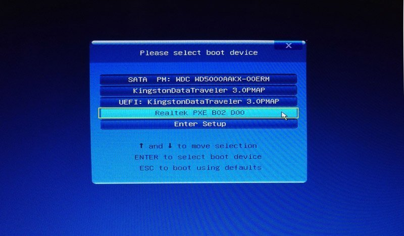 How to Use AOMEI PXE Boot Tool