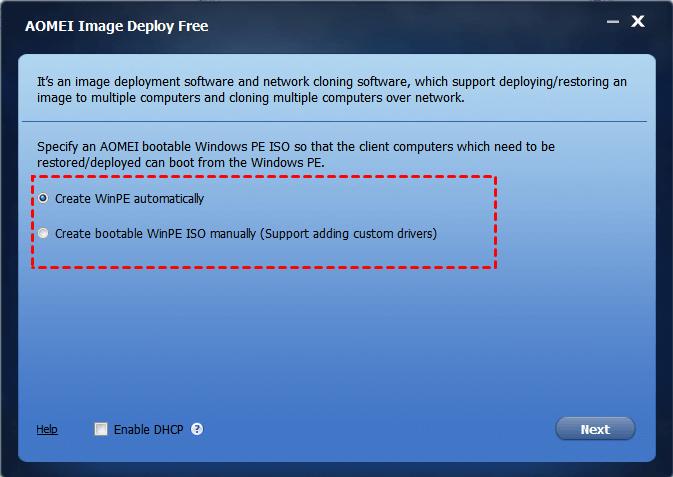 AOMEI Image Deploy | SYSPREP Alternative in Windows 7/8/10
