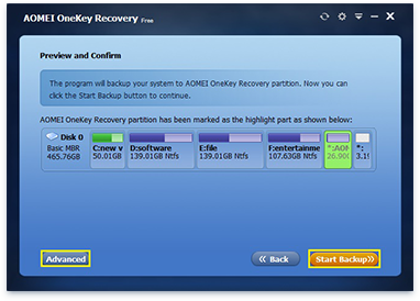 برنامج يمكنك من وضع نسخة احتياطية للويندوز ك ريكفري....... ودعا ليفورمات الهرد c