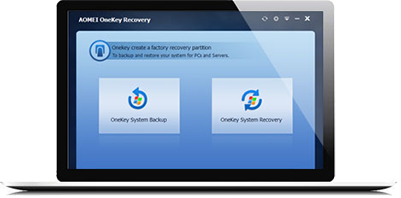 One Key Recovery - Create a Factory Restore Partition with AOMEI