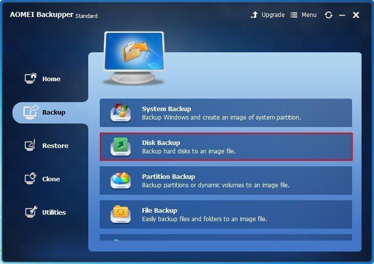 Disk Backup