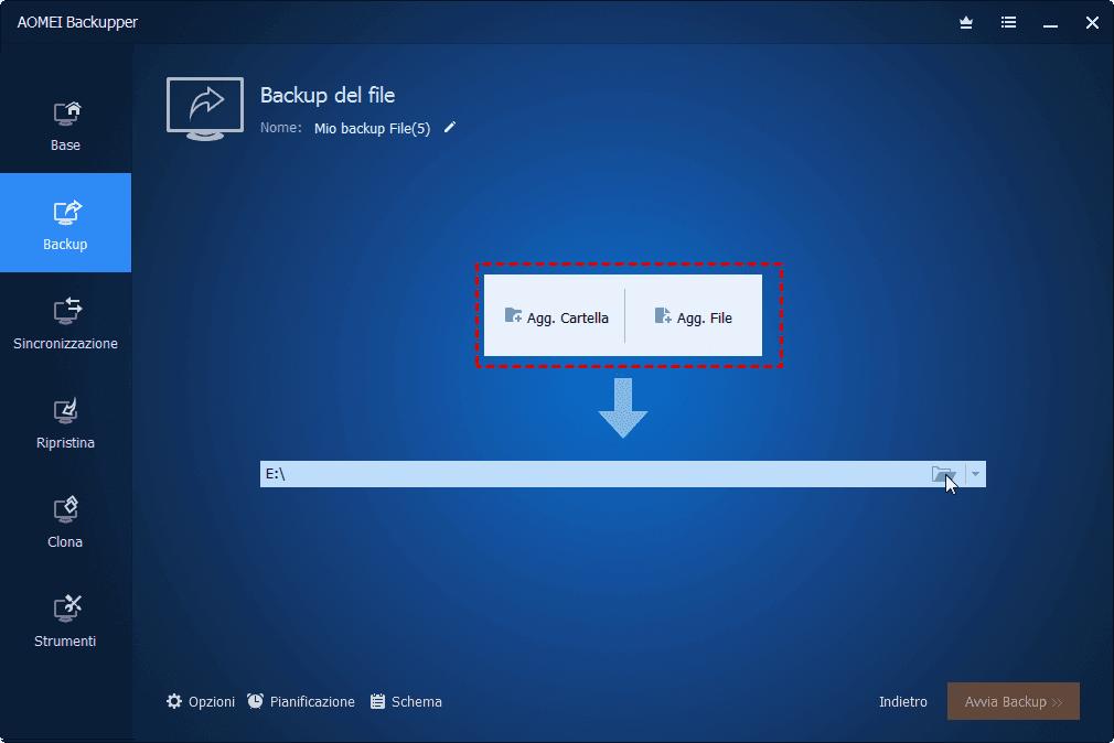 Agg File o Agg Folder